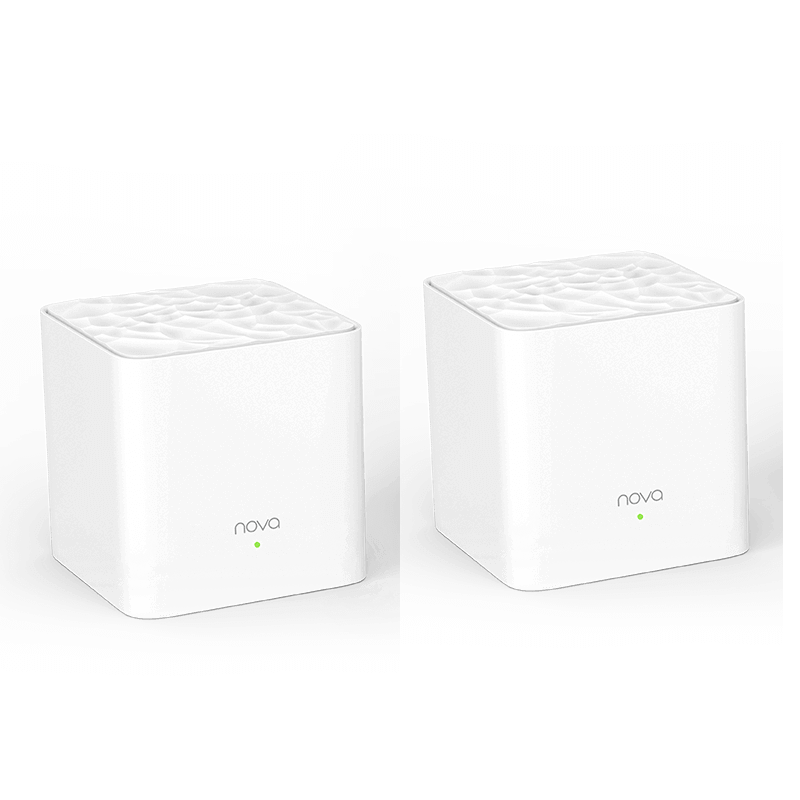 NOVA MW3 TENDA WHOLE HOME MESH WIFI SYSTEM (2-PACK)