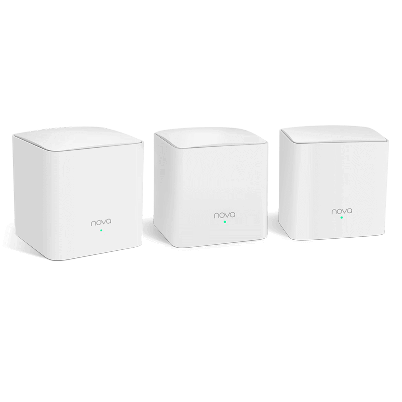 NOVA MW5S TENDA WHOLE HOME MESH WIFI SYSTEM (3-PACK)