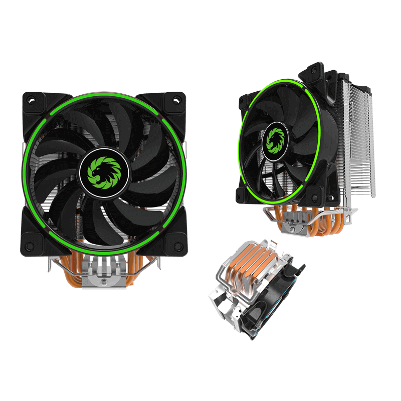 COOLING FAN CPU GAMING GAMMA 500-GREEN