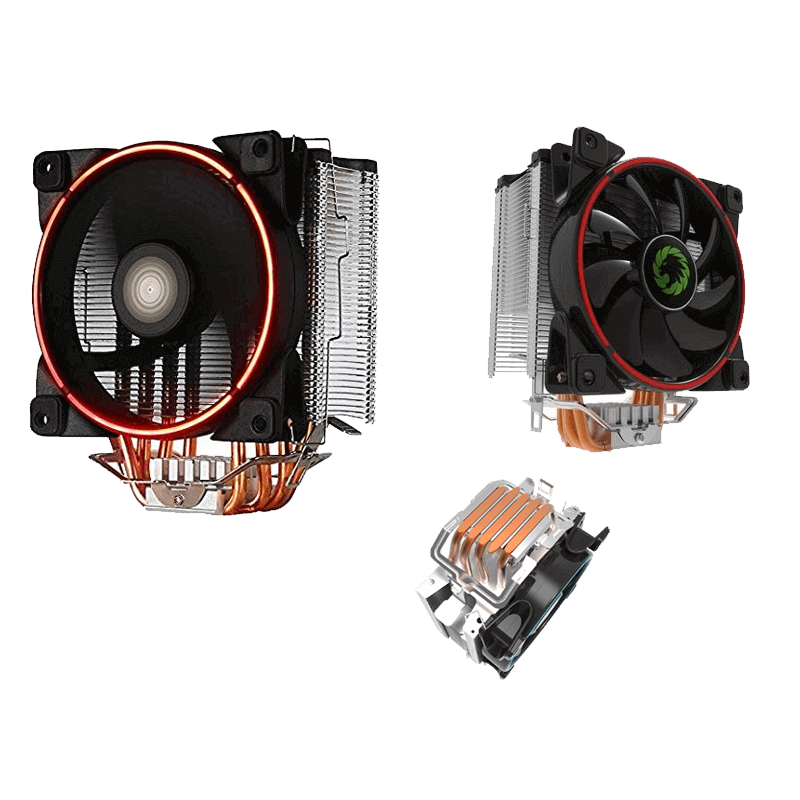 COOLING FAN CPU GAMING GAMMA 500-RED