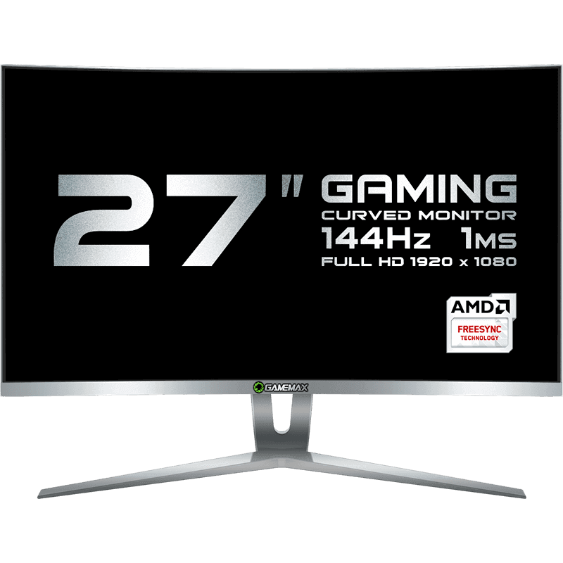 "MONITOR 27"" LCD GAMEMAX GMX27C144 WHITE"