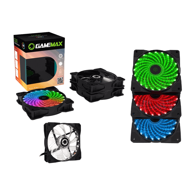 COOLING FAN 3 IN 1 COMBO + REMOTE GAMEMAX CL300