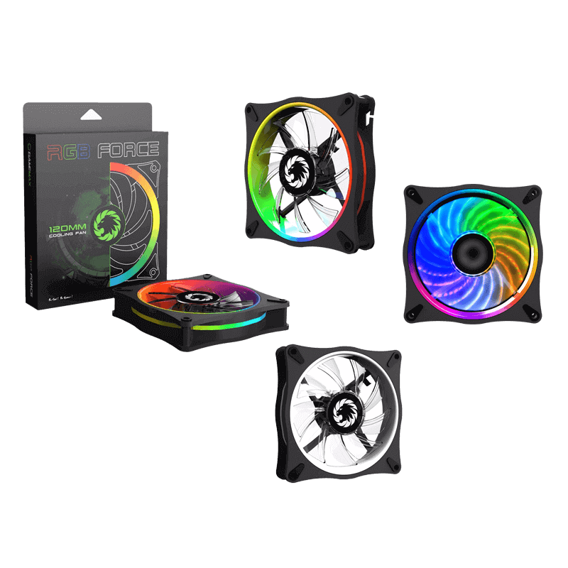 COOLING FAN GAMEMAX GMX-12RAINBOW-D