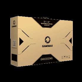 "MONITOR LCD 32"" GAMEMAX GMX32CEWQ BLACK Gamemax"
