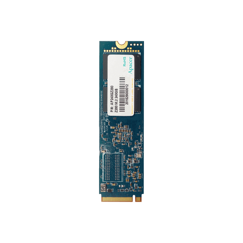 HDD SSD MSATA2 PCIE NVME 240GB APACER AS2280 Apacer