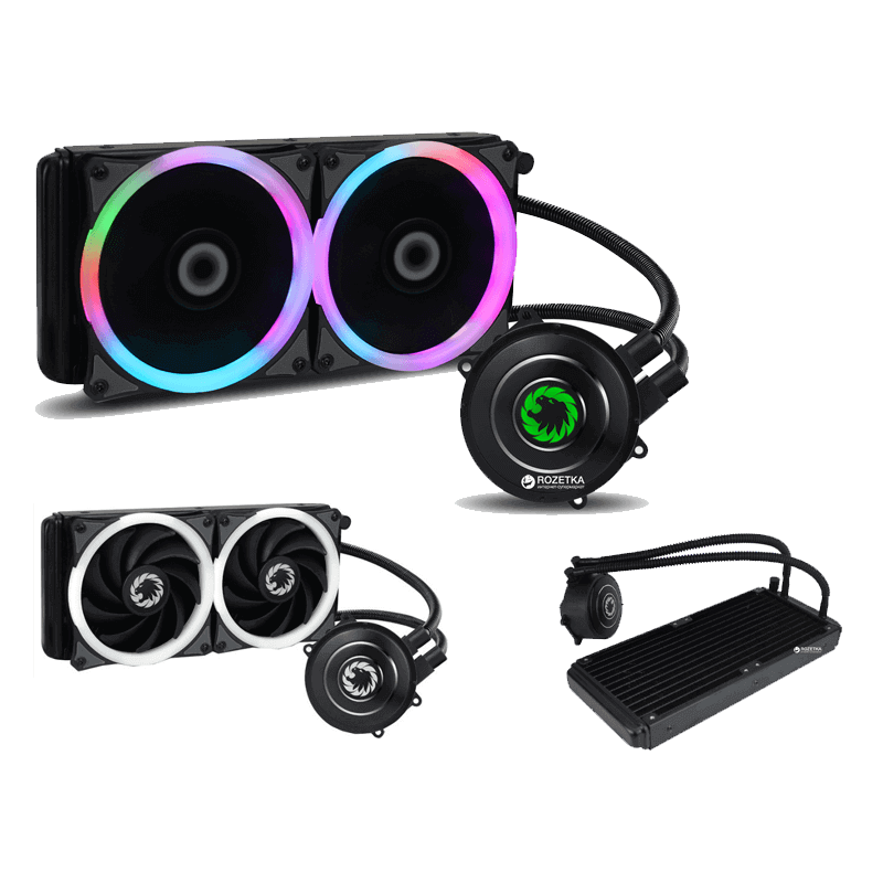 COOLING WATER FAN GAMEMAX ICEBERG 240 RGB