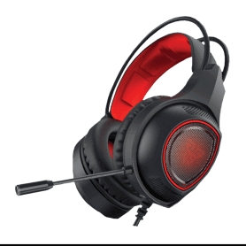HEADSET USB FANTECH RED HG16-SNIPER 7.1