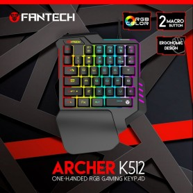 KEYBOARD USB FANTECH K512 ARCHER GAMING