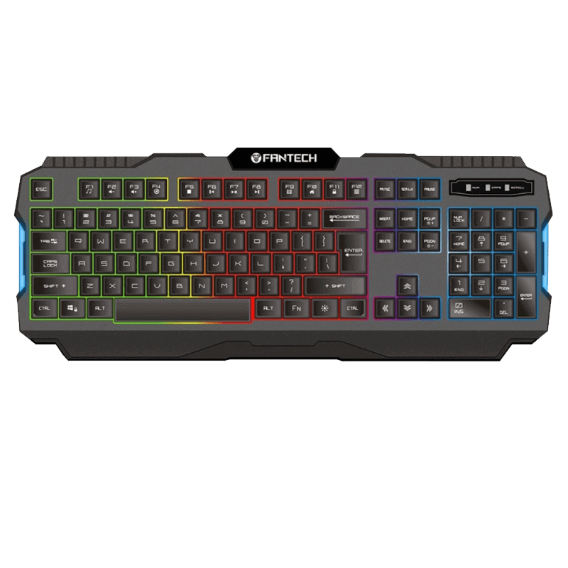 KEYBOARD USB FANTECH K511 HUNTER PRO GAMING