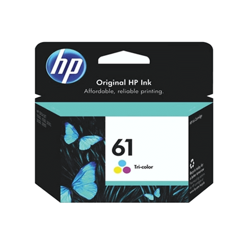INK CARTRIDGE HP 61 TRICOLOR