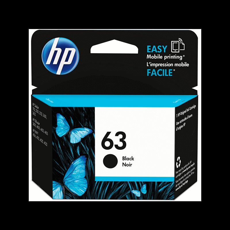 INK CARTRIDGE HP 63 BLACK