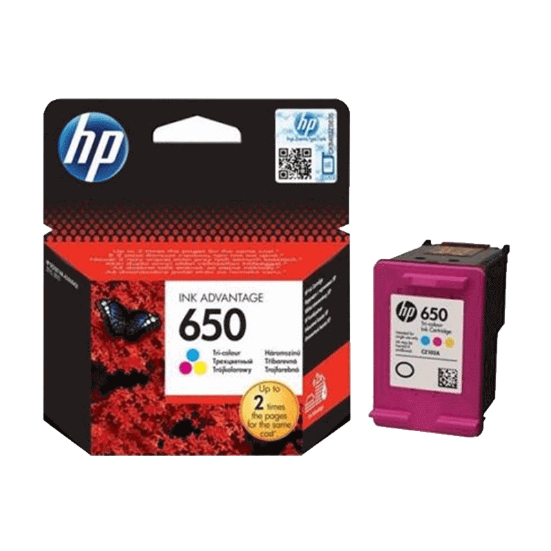 INK CARTRIDGE HP 650 COLOR
