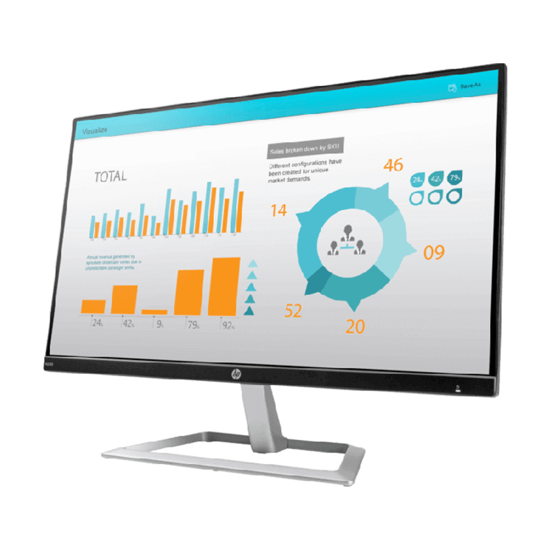 "MONITOR FHD 23.8"" HP N240 3ML21AS"