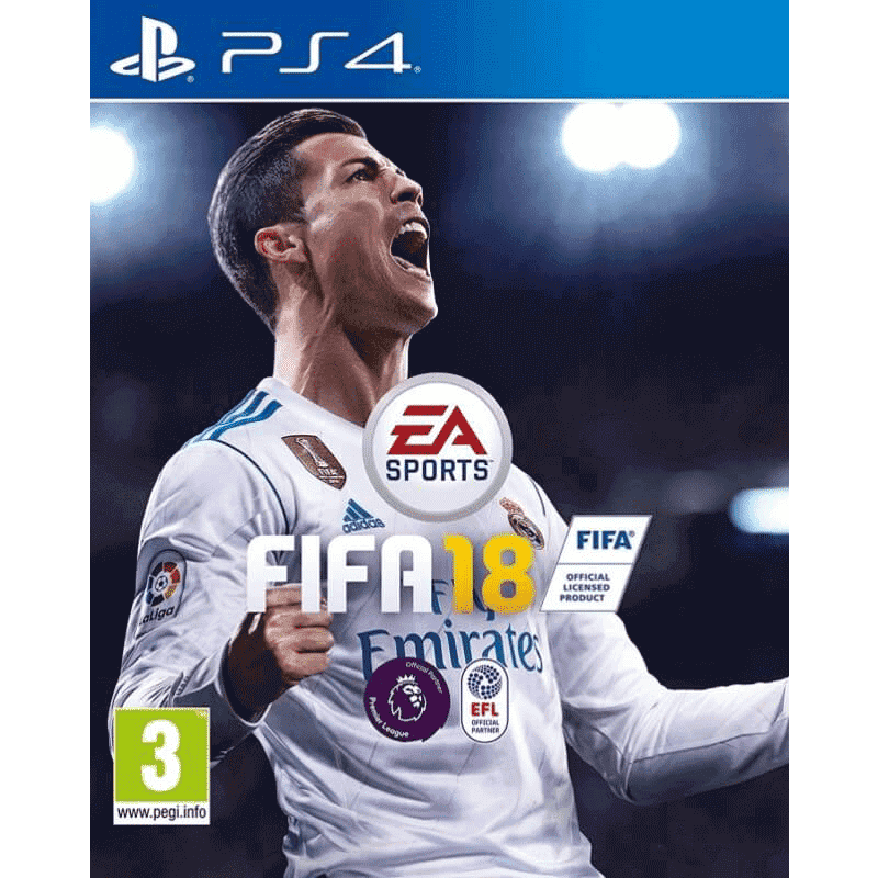 PS4 DVD GAME FIFA 2018