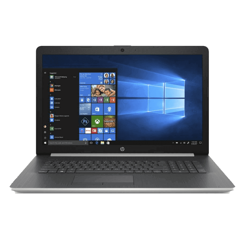 NOTEBOOK I7 HP 17-BY0000NE 4JR65EA SILVER 512GB NVME