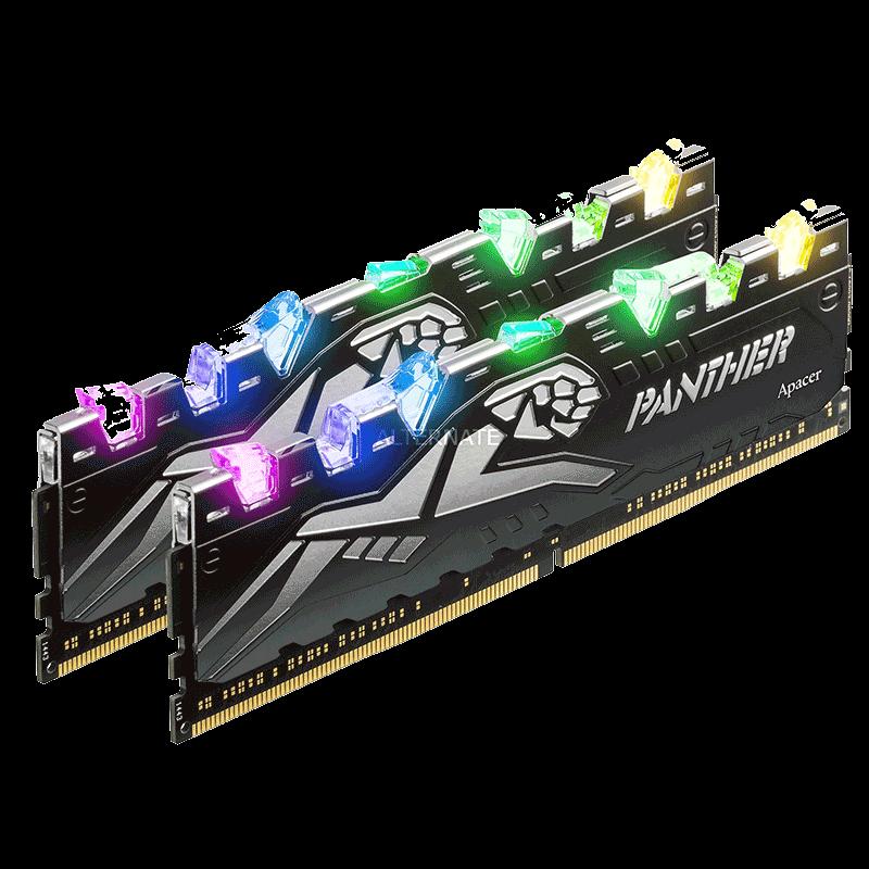 RAM LONGDIMM 16GB 2666 DDR4 APACER PANTHER RGB