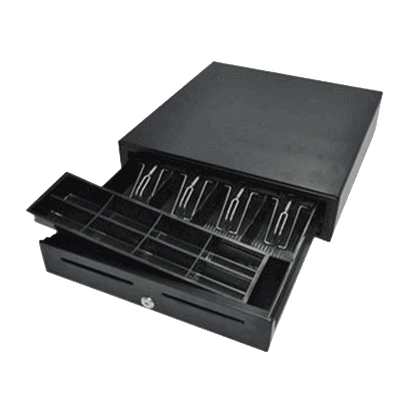 POS CASH DRAWER A-4142B RJ11 BLACK