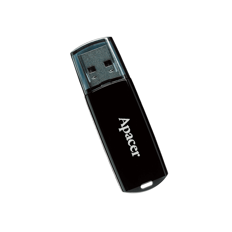 FLASH MEMORY 32GB APACER AH322 BLACK