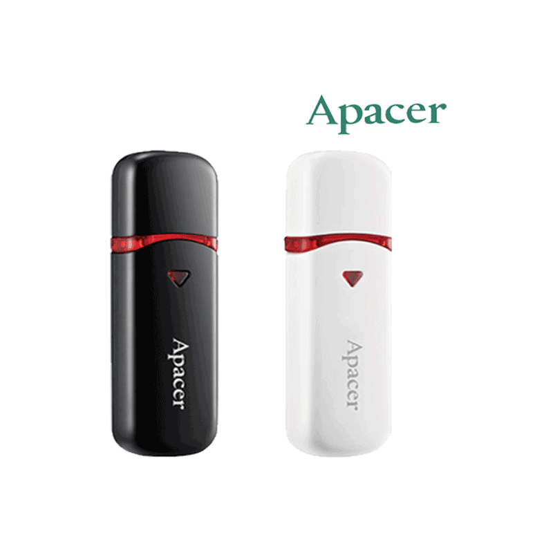 FLASH MEMORY 32GB APACER AH333 BLACK