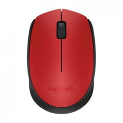 MOUSE WRLS M171 LOGITECH RED